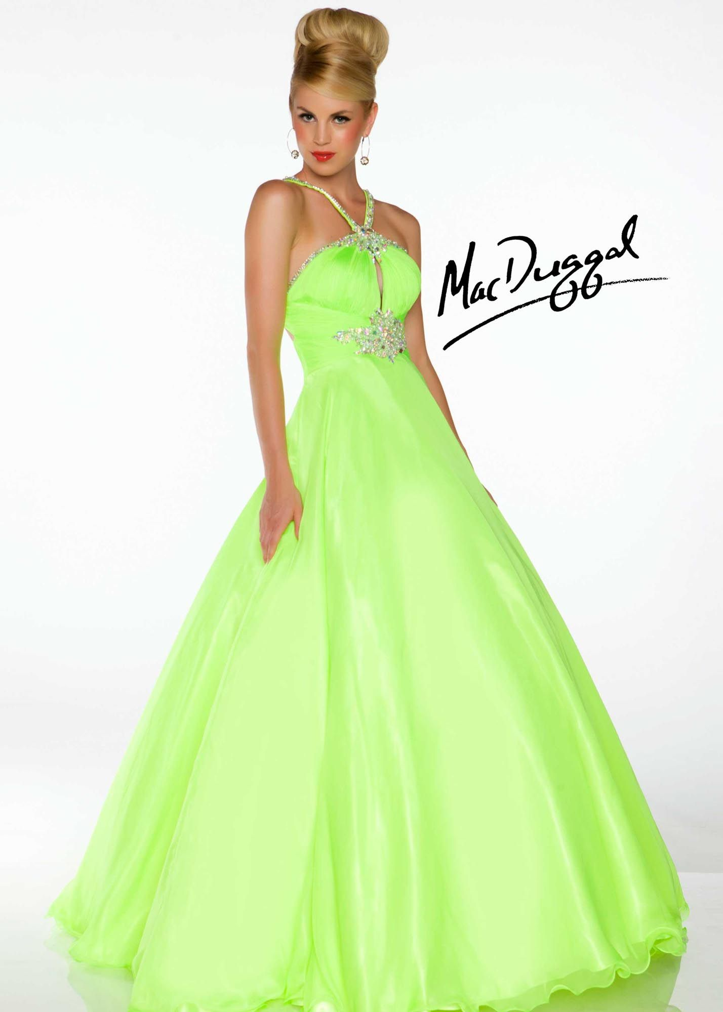 neon green is so getting us in the mood for spring! - ball