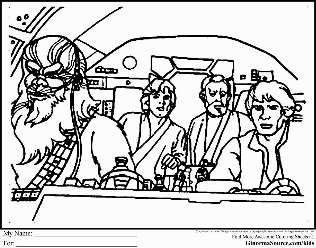 Star Wars Coloring Page Star wars printables, Coloring pages