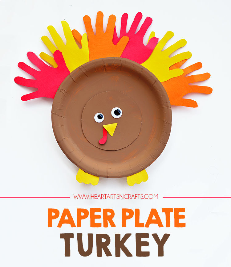 Paper Plate Turkey Kids Craft Kids Fall Crafts