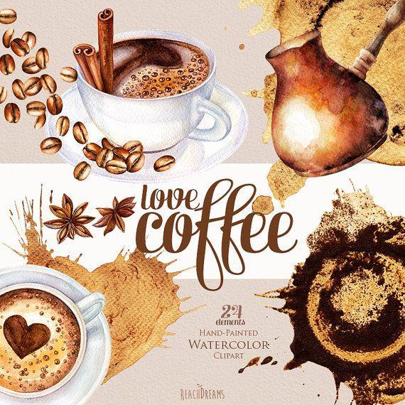 Aquarell Kaffee Clipart Kaffeebohnen Tasse Cappuccino Flecken Zimt Sternanis Kaffee Dekor Kaffeetasse Crema Diy Elemente Coffee Mit Bildern Kaffee Dekorationen Kaffeebohnen Kaffeetasse Bild