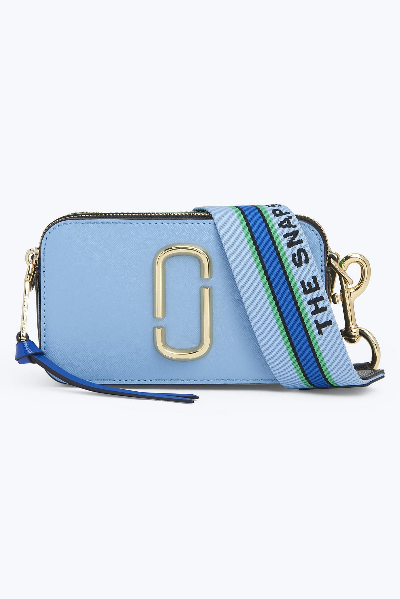 Snapshot Small Camera Bag | MARC JACOBS | Misty Blue Multi | Bags ...