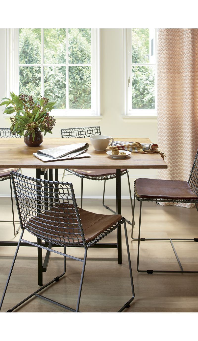 Delicieux Tig Metal Dining Chair | Crate And Barrel