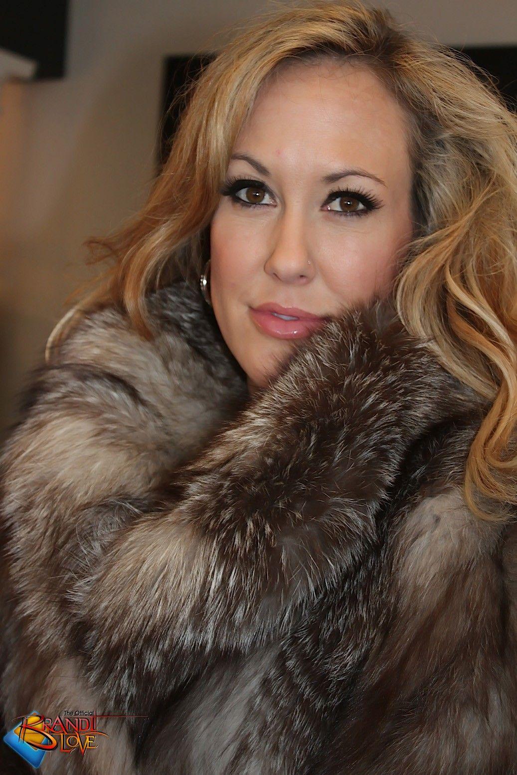 Brandi Love Pornstar Fur Pinterest Fur Fur Coat And
