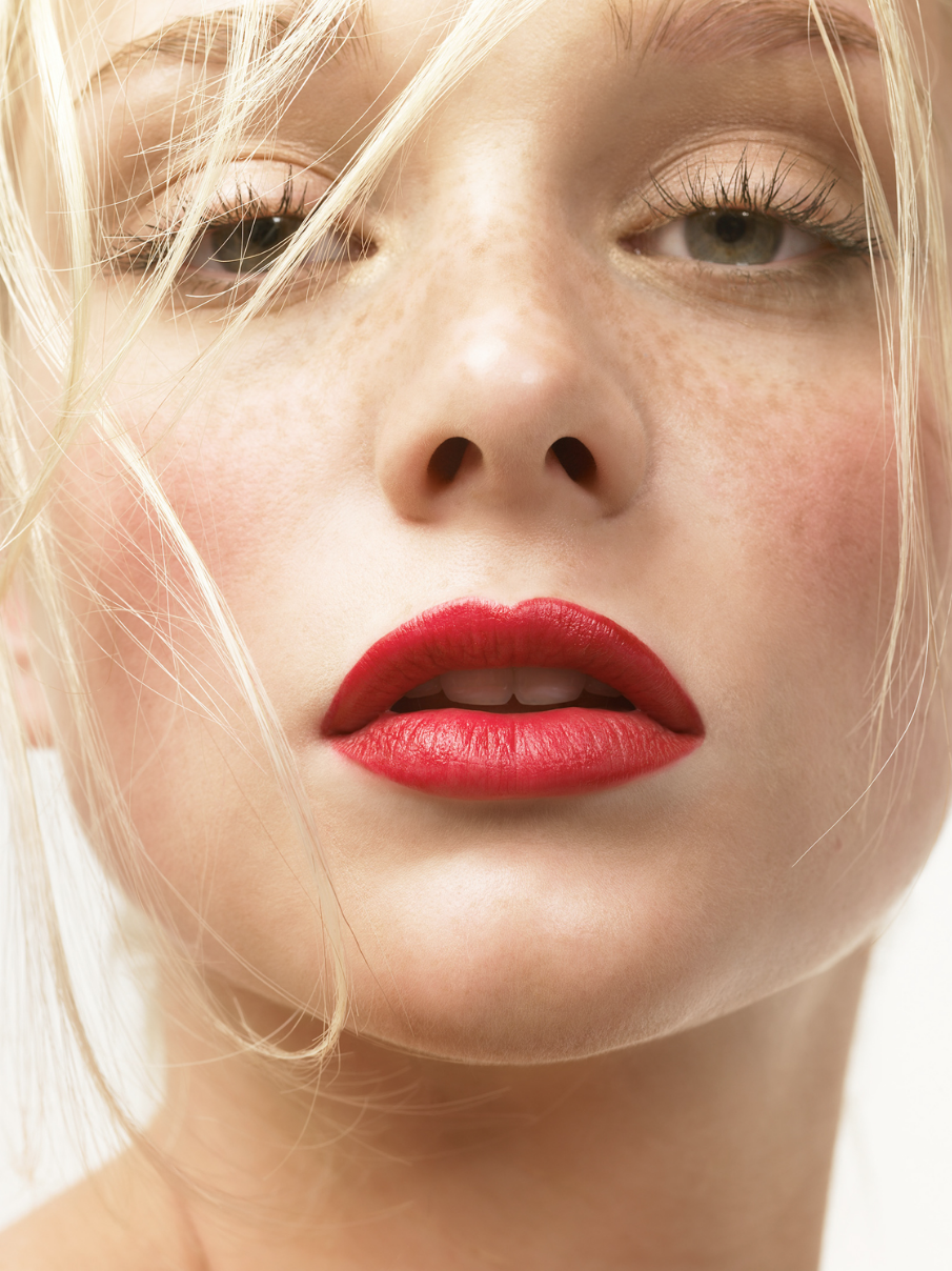 Light Eyes Red Lips Fair Skin Blonde Hair Rose Cheeks Lipstick For Fair Skin Fair Skin Makeup Best Red Lipstick