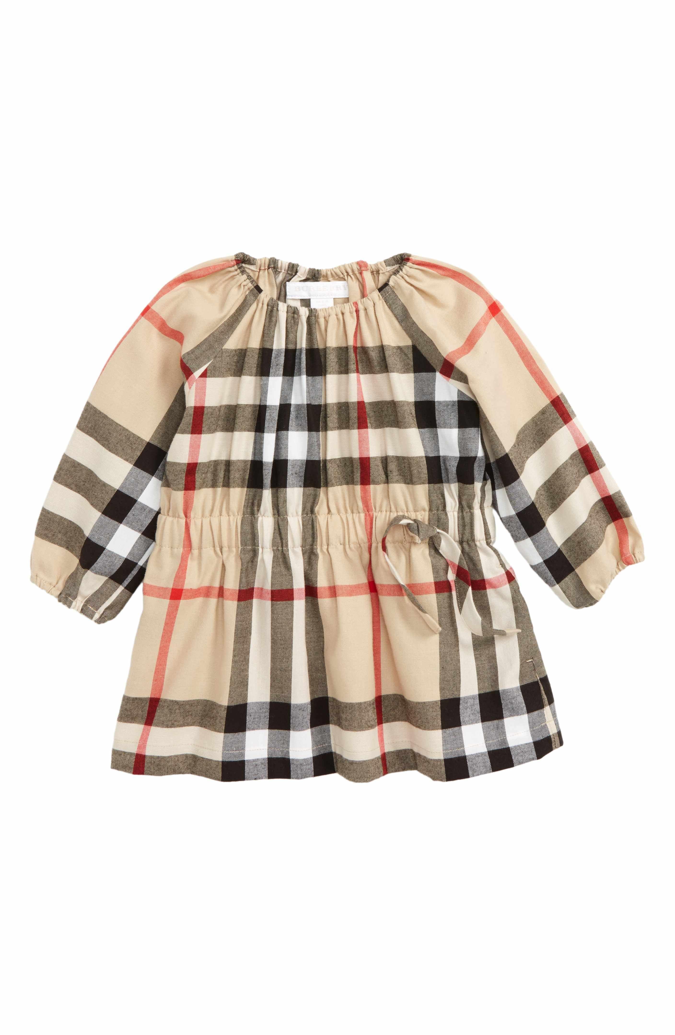 Mini Kadyann Check Flannel Dress