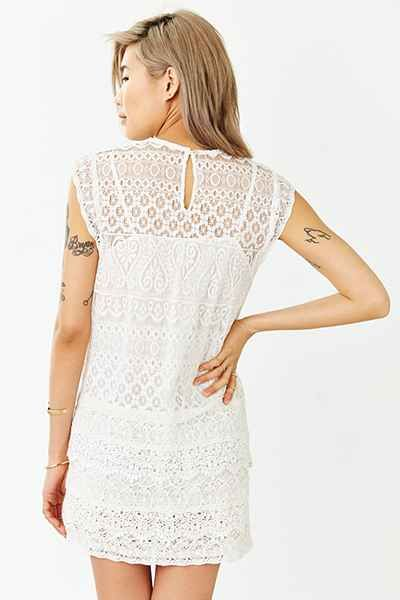 Kimchi Blue Mary Mac Lace Dress - Urban Outfitters