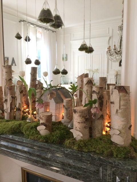 La maison de chantal paques printemps pinterest - Decoration de vitrine de noel ...