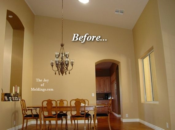 Crown Molding Sloped Ceiling Installation | Integralbook.com