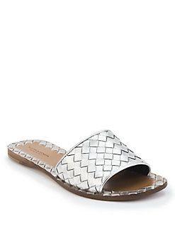 Bottega Veneta Embossed Slide Sandals low price fee shipping ywEyeAIG9