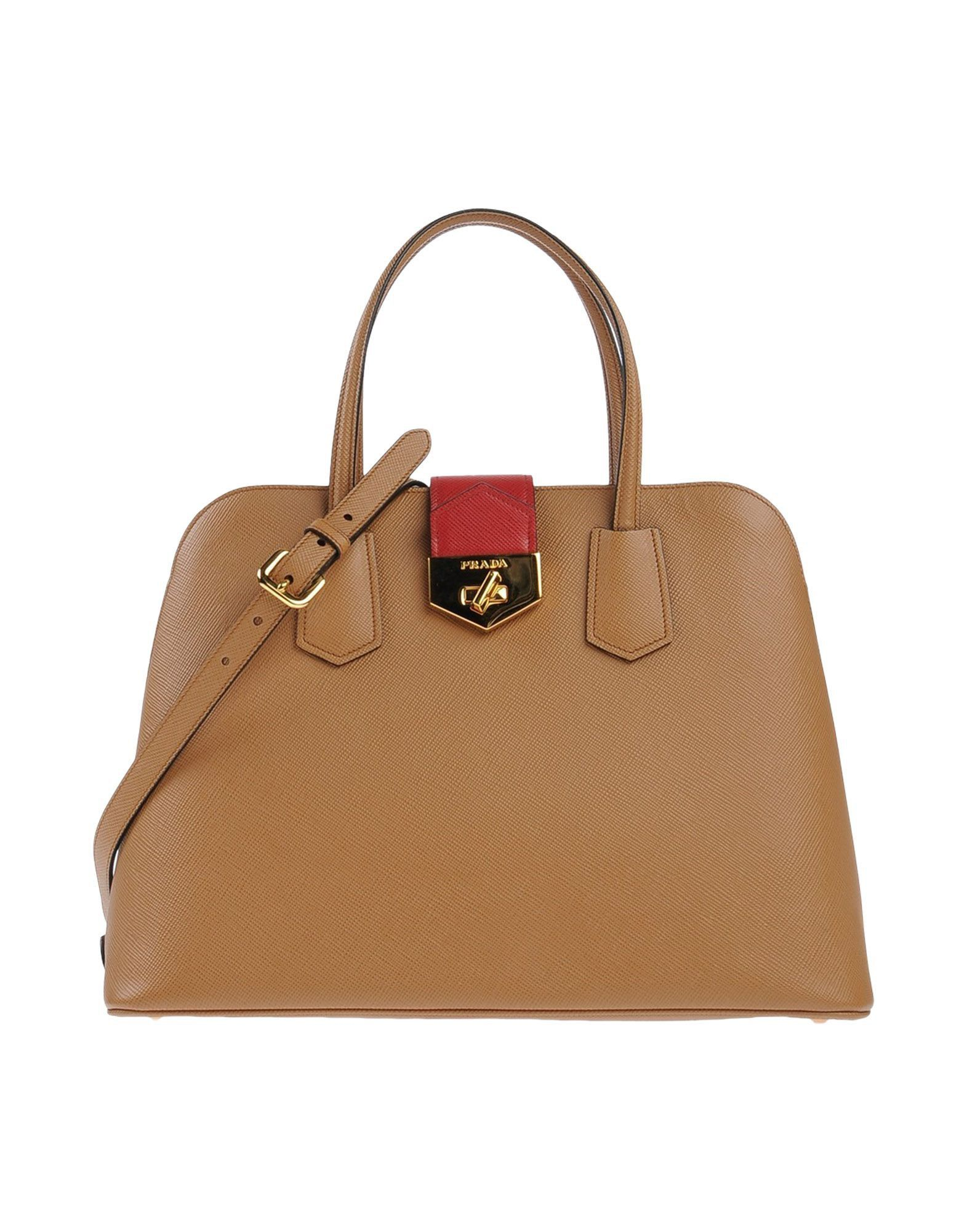 e0df9480b997 V24J8 Prada Saffiano Lux Bicolor Double-Zip Tote Bag