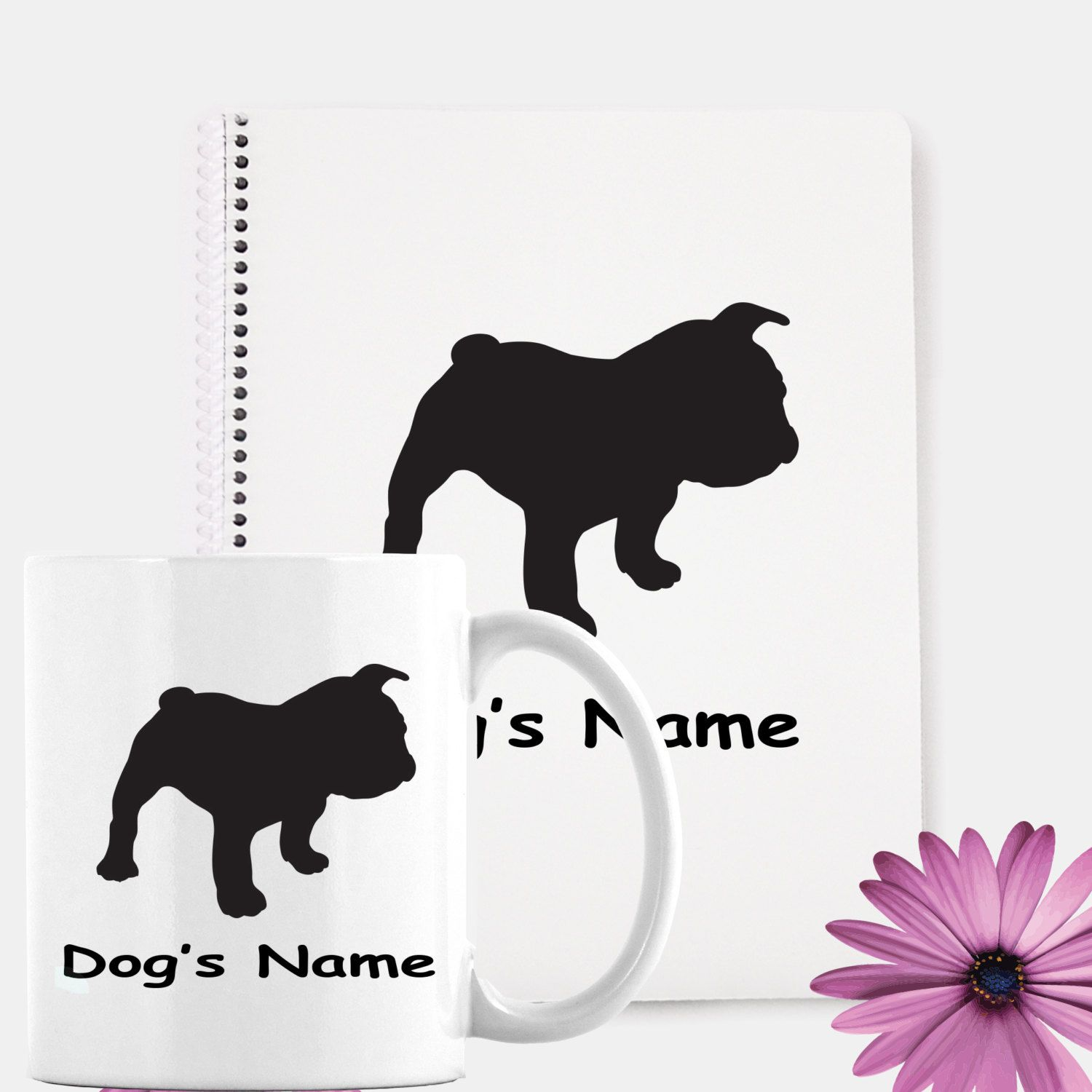 Dog lovers Gift Set | Coffee Mug | Notebook | Personalized Gifts ...