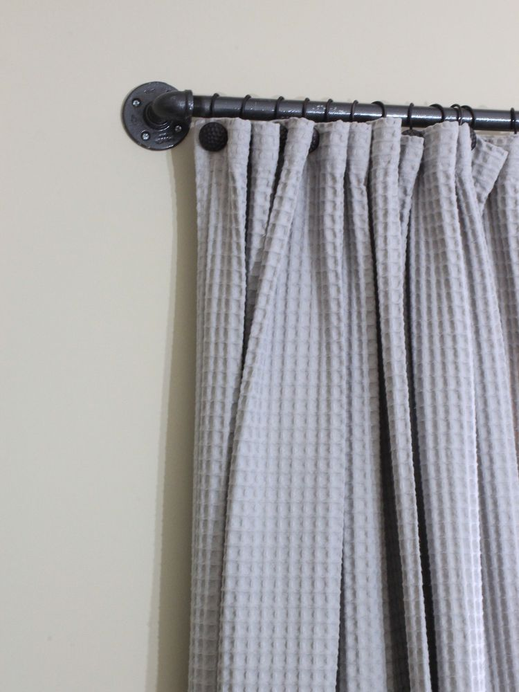 6 Ways To Make Your Own Curtain Rods Diy Curtains Diy Curtain
