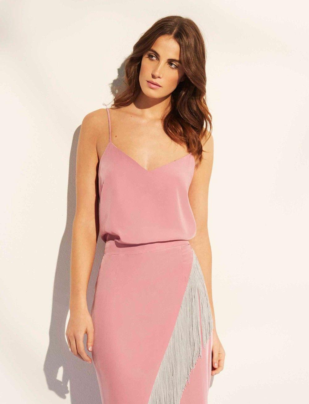 Top lencero para bodas rosa Venecia | Ropa de fiesta para invitadas ...