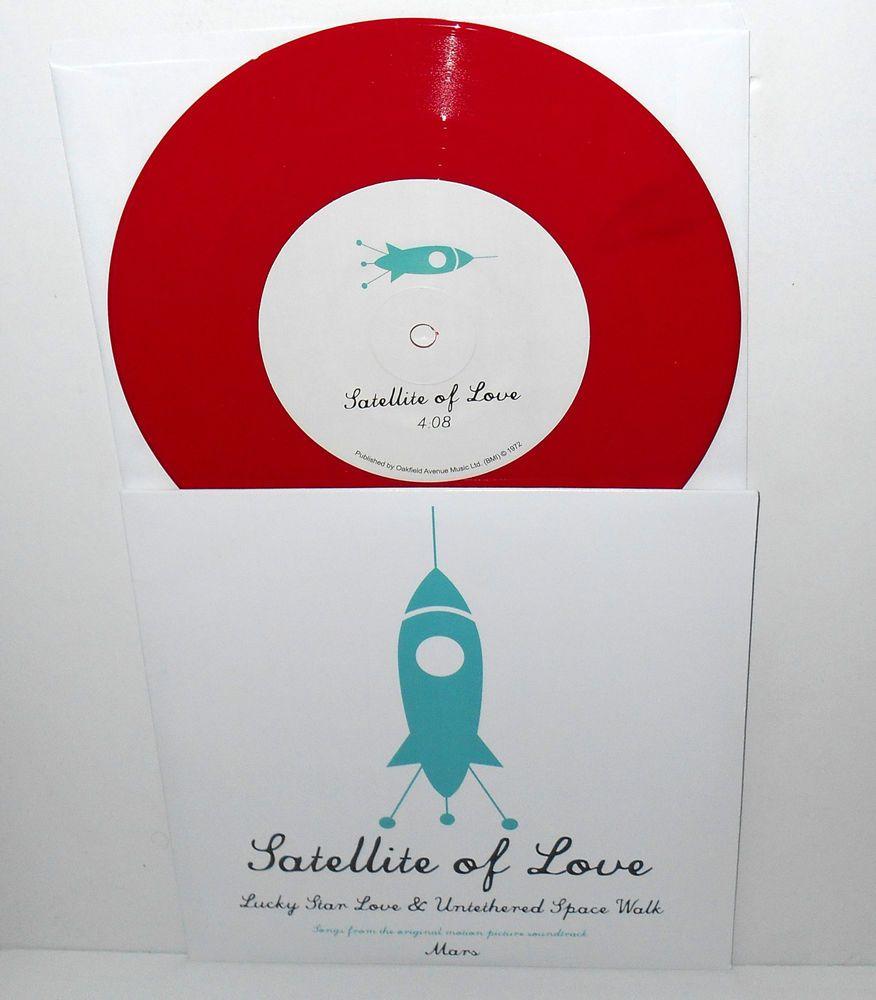 Satellite Of Love Ep From Mars 7 Red Vinyl Record Lou Reed Velvet Underground Alternativeindiepsych Satellite Of Love Velvet Underground Lou Reed