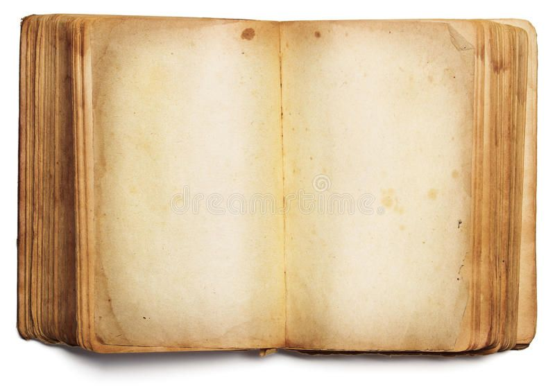Old Book Open Blank Pages Empty Paper Isolated On White Old Book Open Blank Pa Sponsored Pages Empty Blank Book Old Books Empty Book Wine Signs