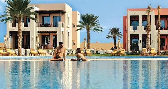 Hilton Ras Al Khaimah Resort And Spa Outdoor Pool With Guests Resort Resort Spa Ras Al Khaimah