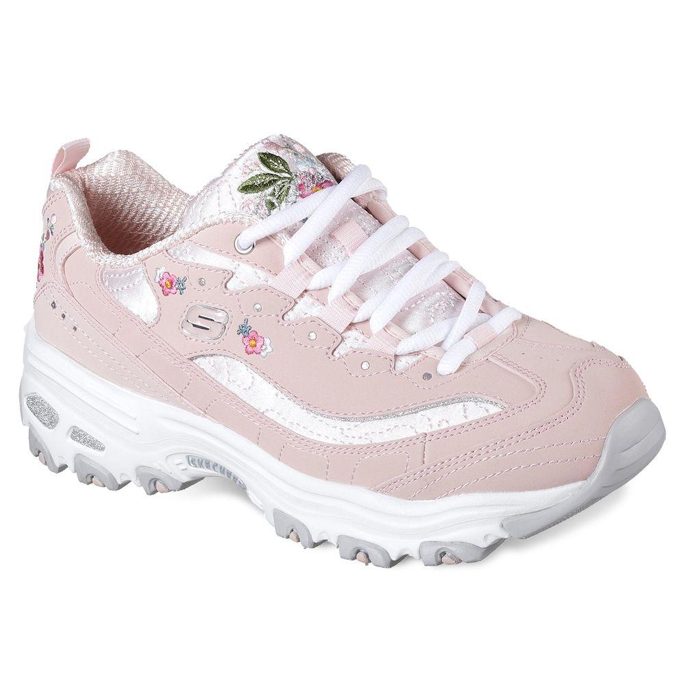 Skechers D'Lites Bright Blossoms Women's Shoes, Size: 10