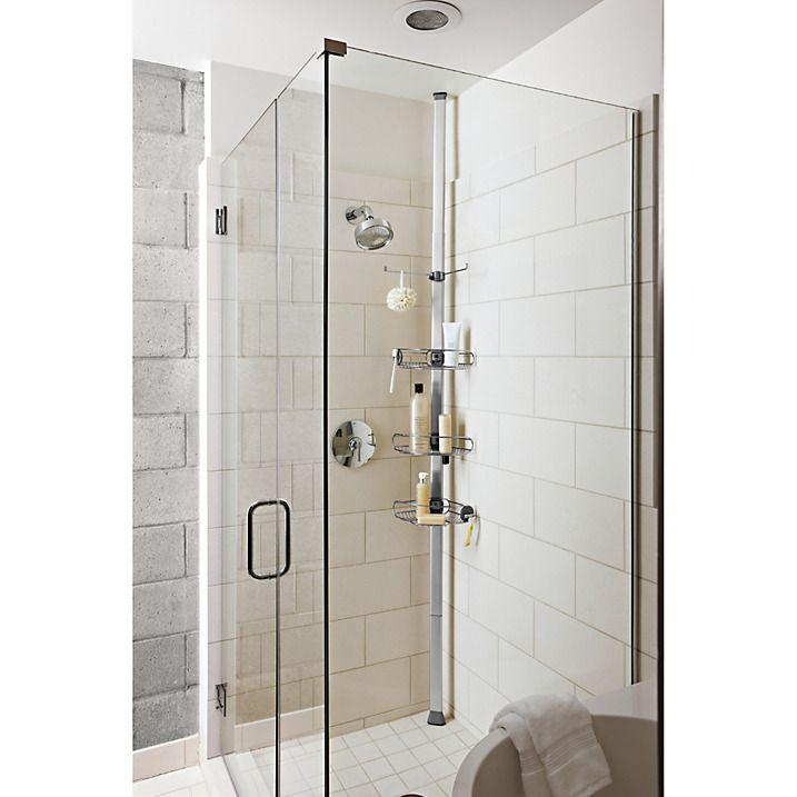 simplehuman Tension Shower Basket | Shower basket, Shower caddies ...