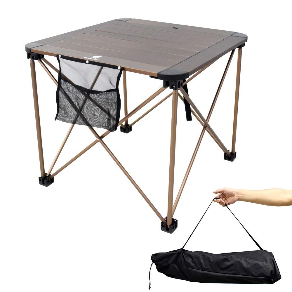 This Is A Foldable Camping Aluminum Table For Easy Carrying The