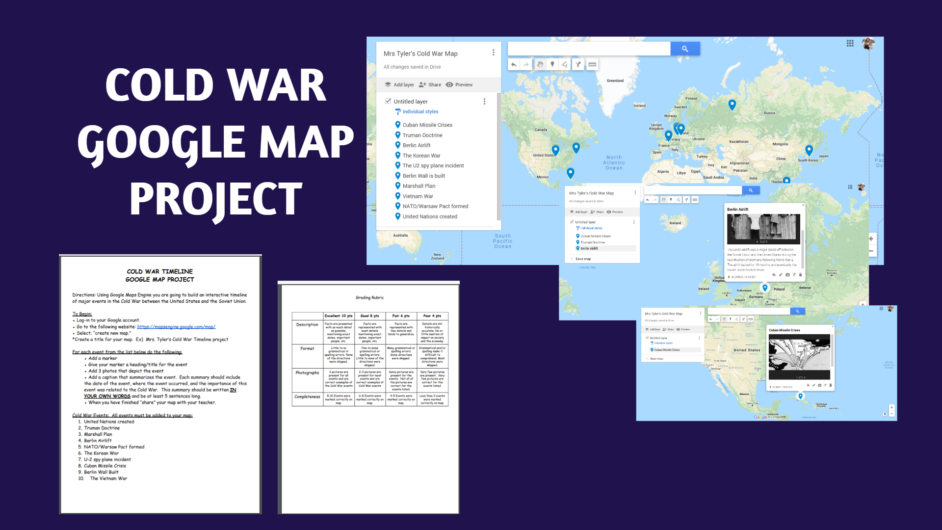 Cold War Map Project