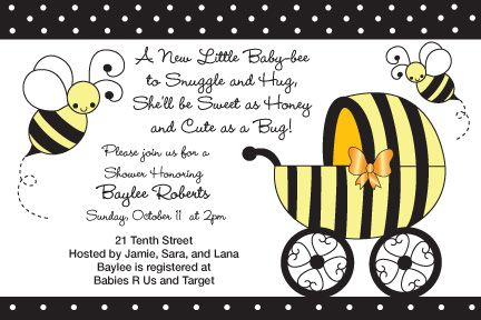 Honey Bee Baby Shower Invitations Ble Are Also Available Below Is The Ideas Pinterest