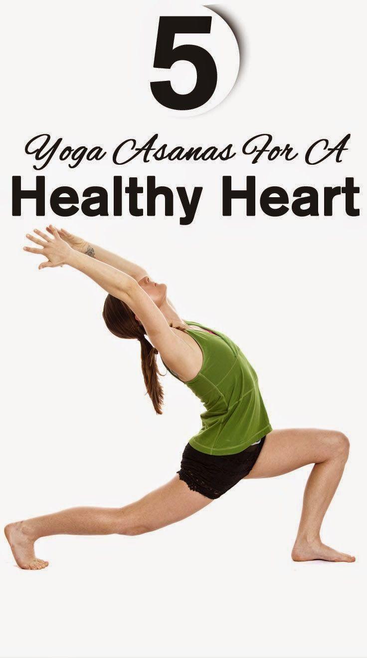 Top 31 Yoga Asanas For A Healthy Heart  Yoga asanas, Yoga, Health