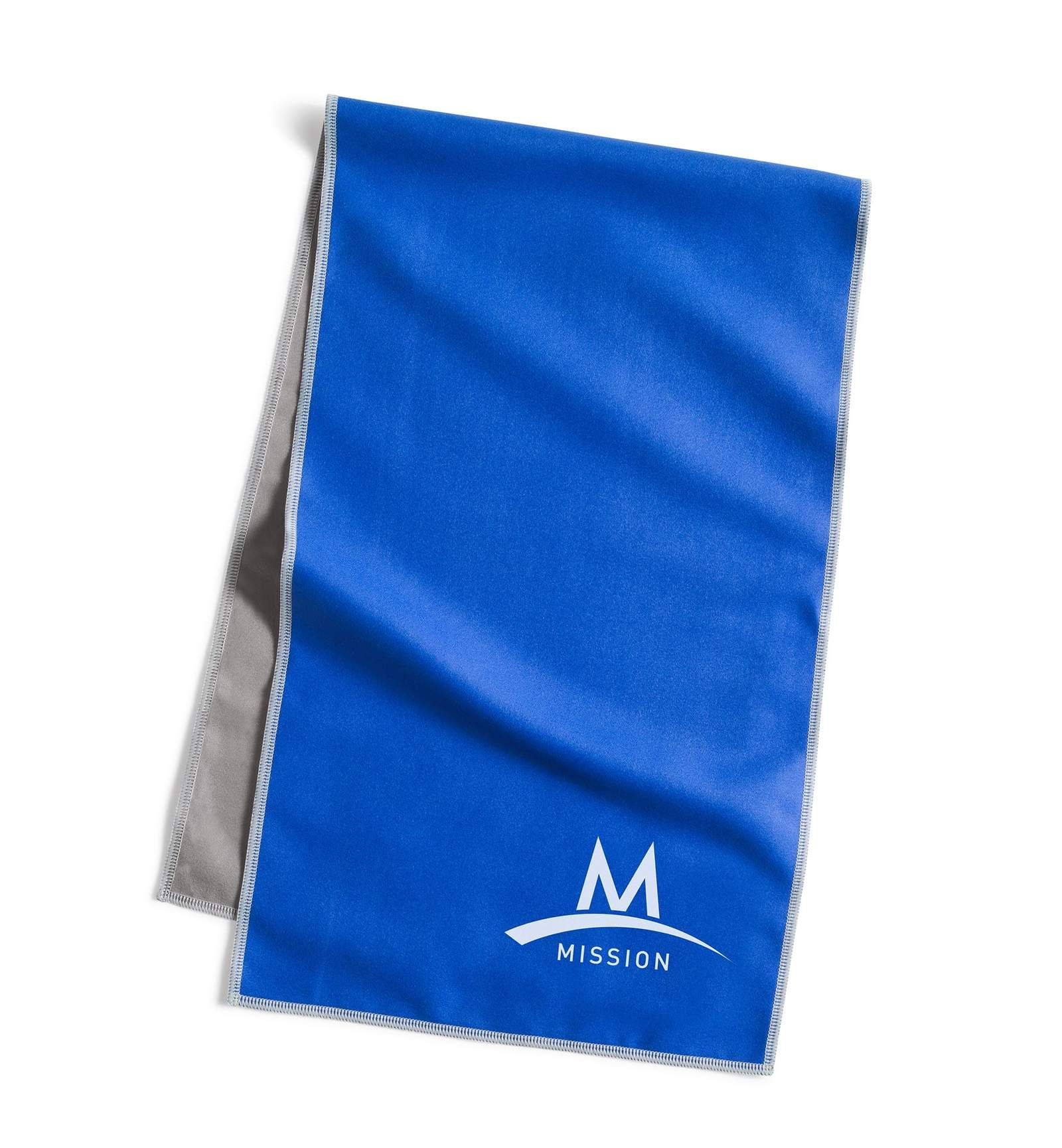 Original Cooling Towel Blue With Images Blue Towels Towel Cooling Towels