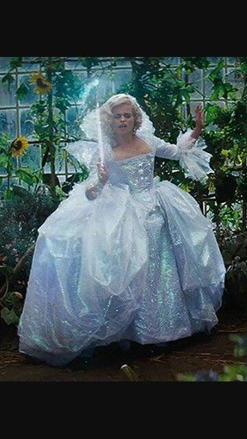 Fairy Godmother Dress Hada Madrina Cenicienta Hada Madrina De