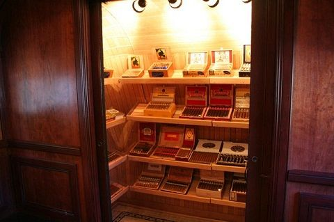 Walk In Humidor.....at Home. This One Is About