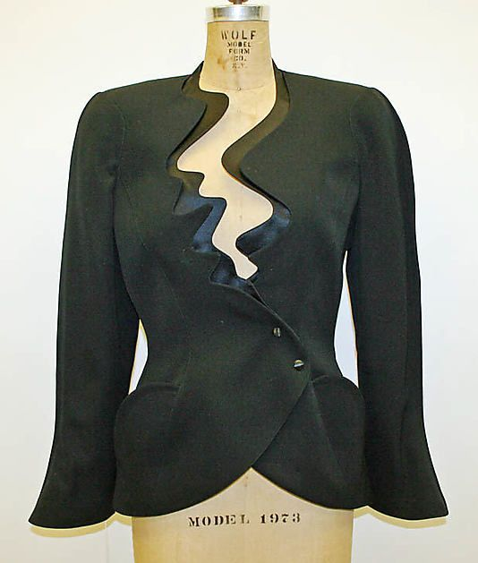 dd467e4797c83 Suit - 1989   Thierry Mugler   Fashion, Thierry mugler, Couture fashion