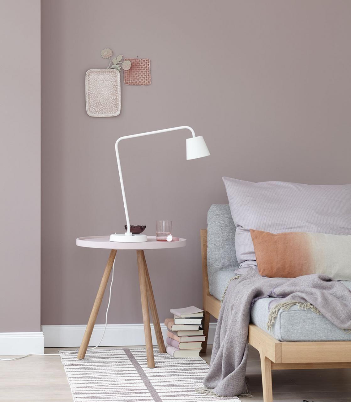 Wandfarben Zu Weißen Möbeln: Deko Und Accessoires Im Kupfer-Look