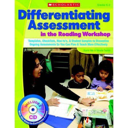 Scholastic Differentiating Assessment in the Reading Workshop - sample instruction manual template