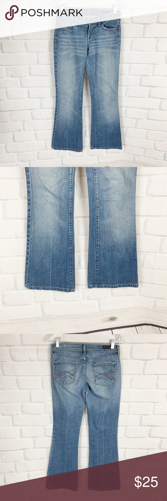 Citizens of Humanity Low Rise Flare Jeans COH  Light wash