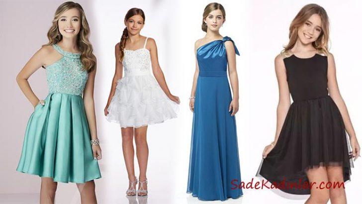 2020 Cocuk Abiye Ve Dugun Elbiseleri Genc Kizlarin Gozdesi Elbise The Dress Aksamustu Giysileri