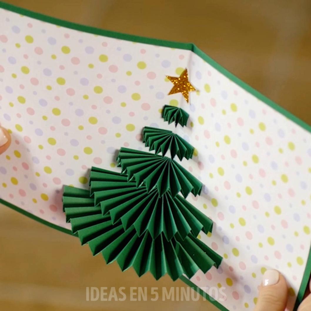 Tarjetas navideñas sencillas