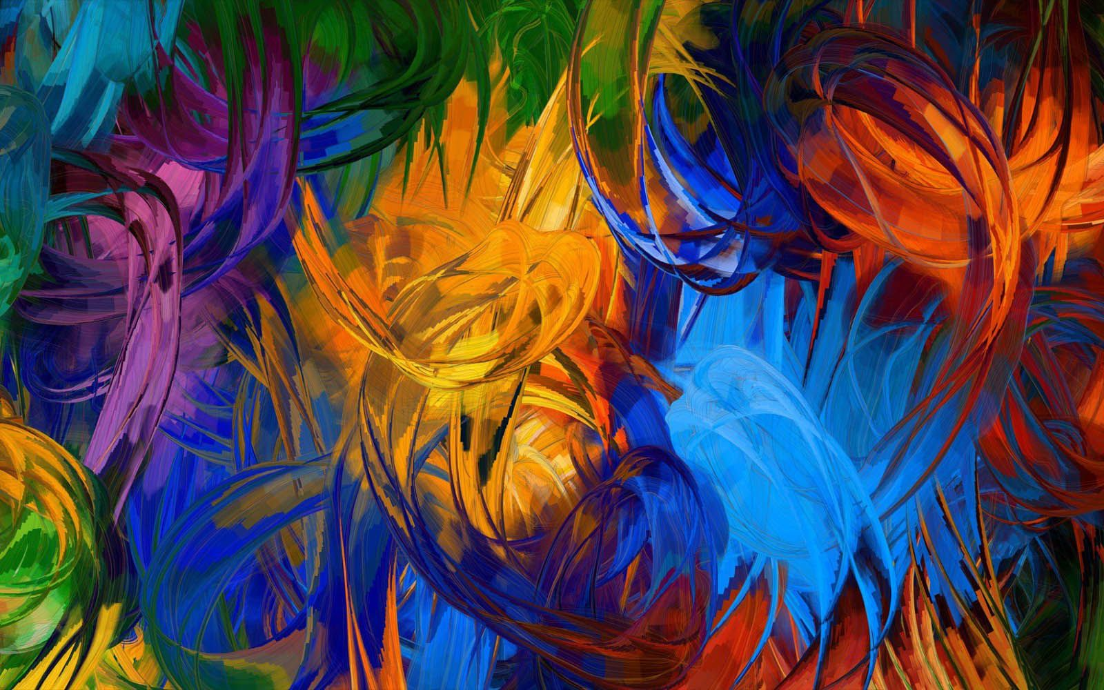 Colorful Abstract Art Keywords Abstract Paintings Wallpapers