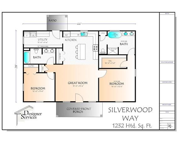 The Silverwood Way Plan Etsy House Plans Barn House Plans Bedroom House Plans