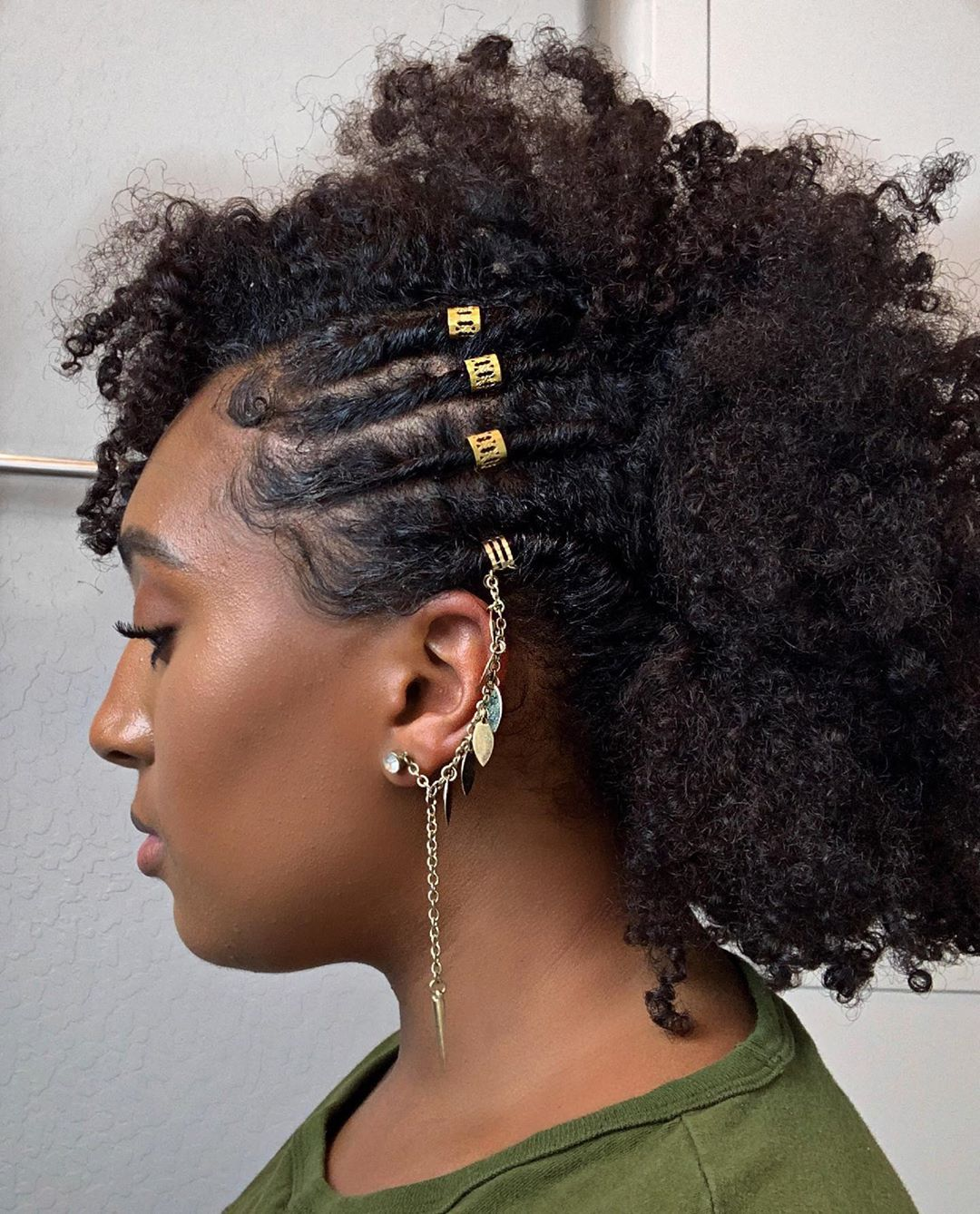 Curly Craze Crazy Hairstyles For African Americans Short Hair Styles Easy Short Hair Styles Short Hair Updo