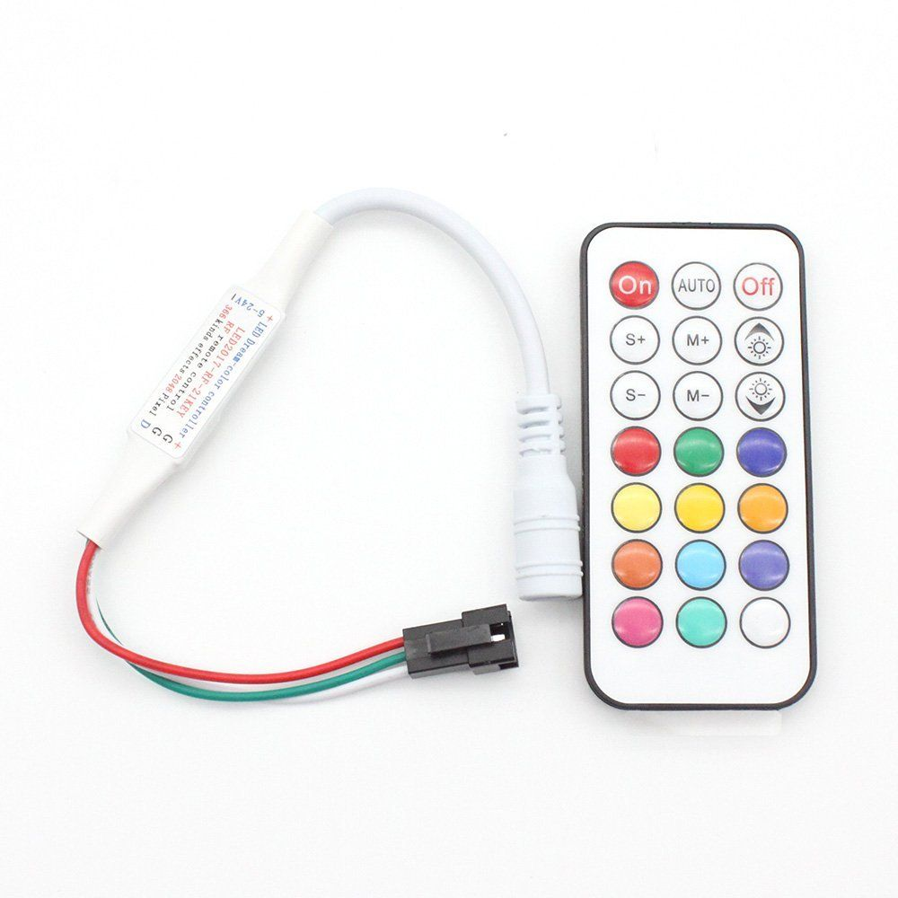 21KEY WS2812B LED Controller | WS2812 in 2018 | Pinterest | LED, Led ...