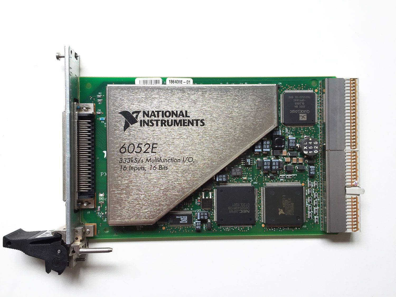 NEW National Instrumens NI PXI-6052E