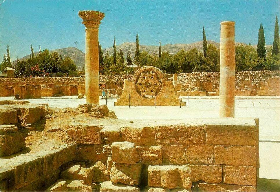 Jericho-أريحا: Ruins of Hisham bin AbdulMalek Palace D