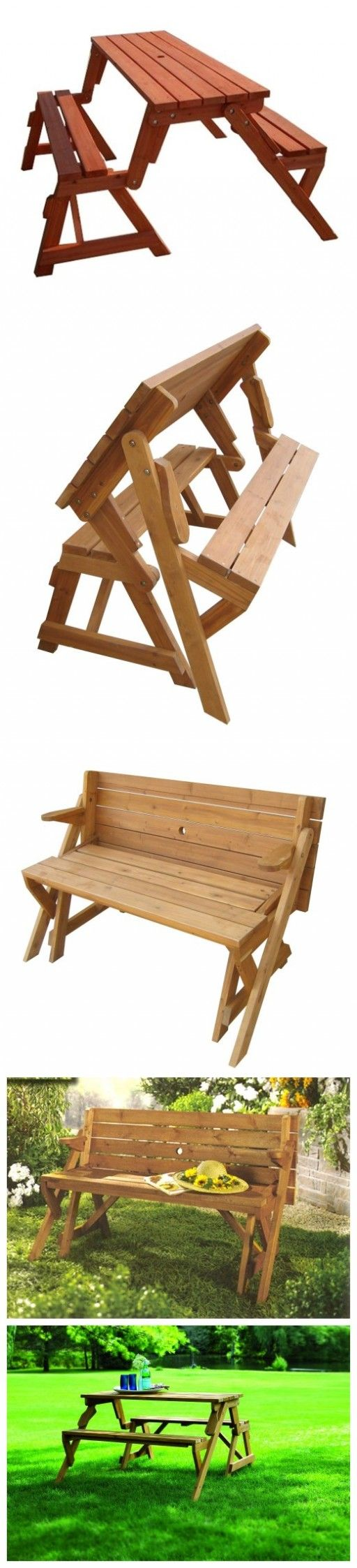 convertible picnic table / bench | ℛandom ℭreative ℐdeas ...