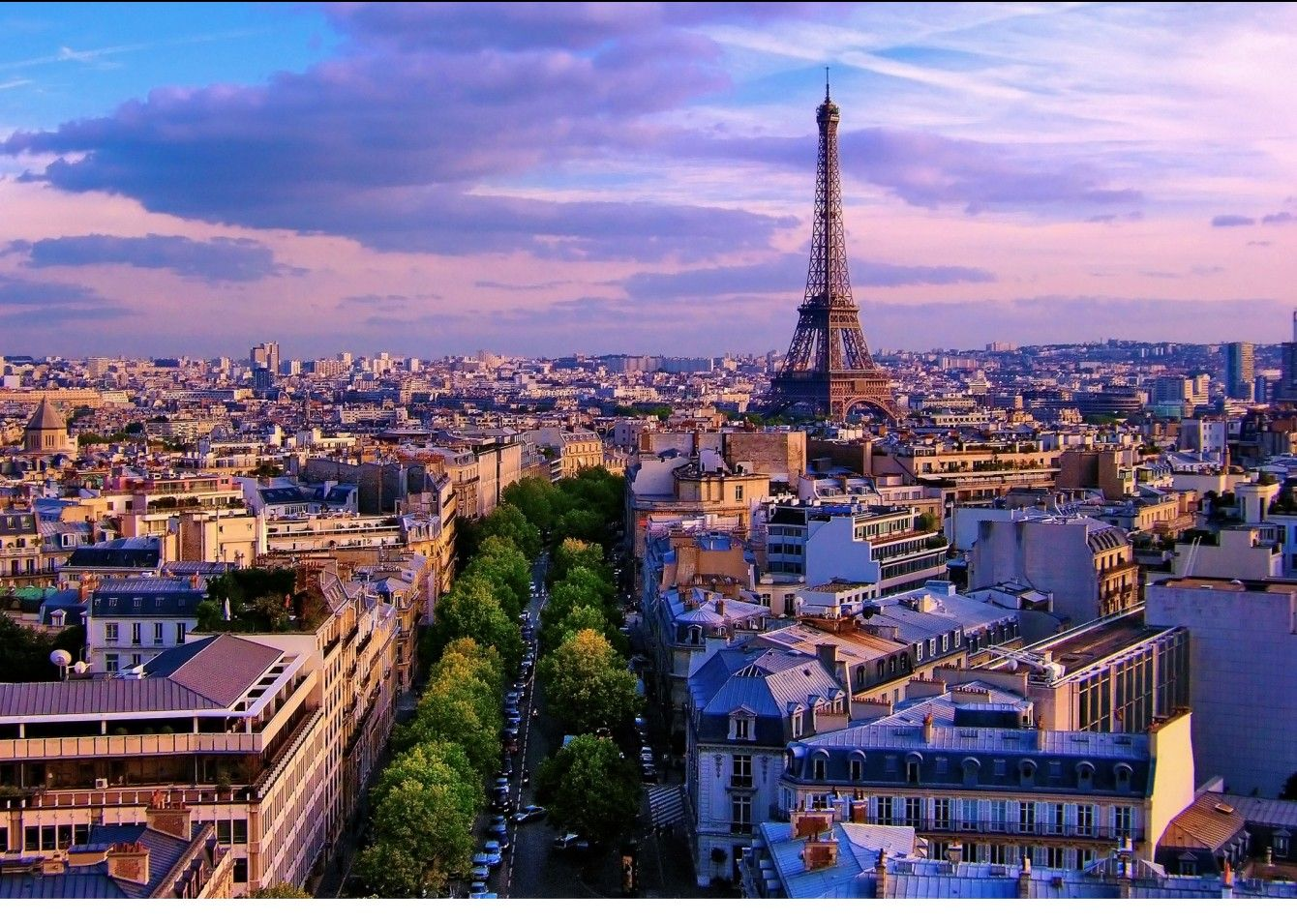 The Eiffel Tower in Paris and its image in the minds of people
