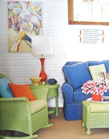 Beach Cottage Style Decorating via Cottage Style Magazine #beachcottagestyle