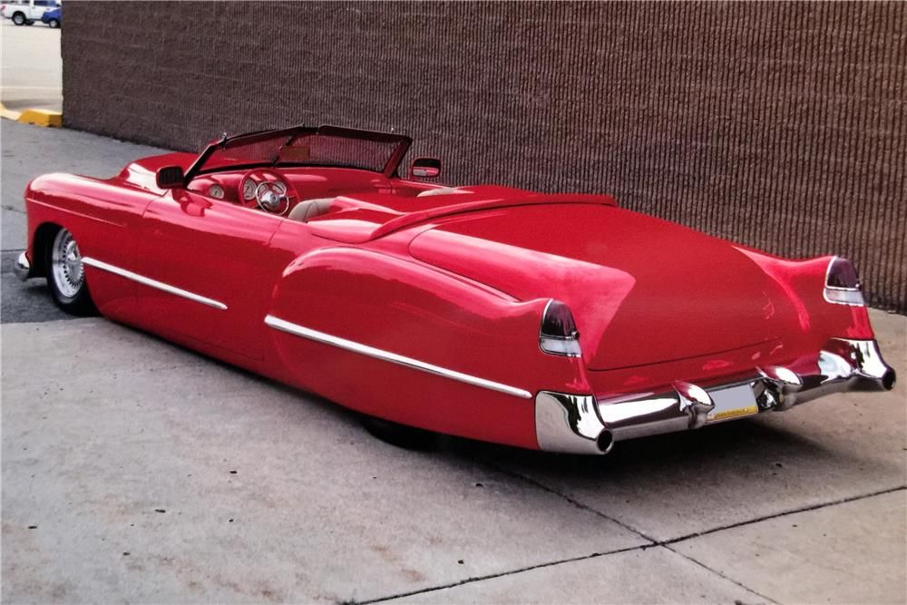 1948 CADILLAC CUSTOM CONVERTIBLE