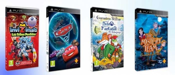 Sony ofrece una completa oferta para que los más pequeños de la casa se diviertan con su consola portátil en verano.