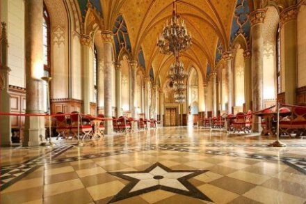 Pictures Inside Castles Hohenzollern Castle Germany Images Inside View Of The Count S Hall Castles Interior Hohenzollern Castle Inside Castles