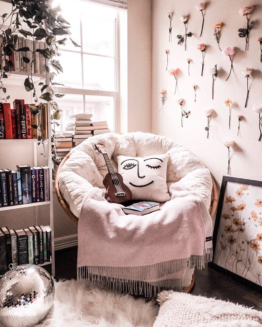 Cozy Reading Nook Ideas Astoldbymichelle Readingcorner Bookshelf Shelfie Shelfstyling Myhom Bedroom Reading Nooks Aesthetic Room Decor Aesthetic Bedroom
