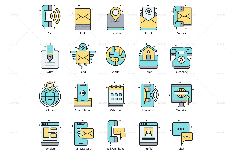 Contact Us Icons - Aqua #Contact, #Icons, #Aqua | Creative Business