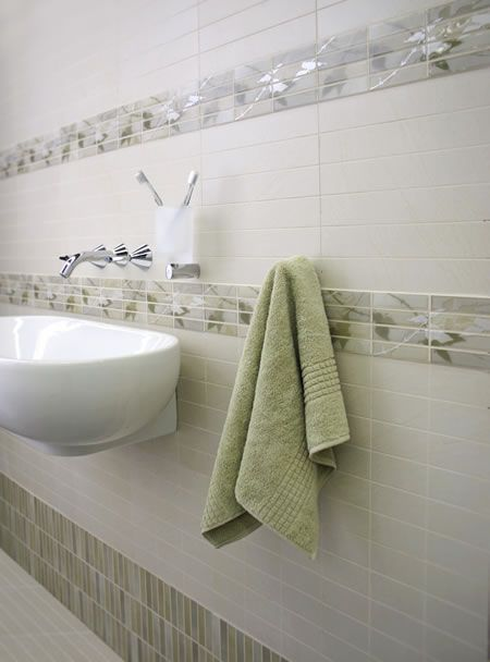Bathroom Tile Border Ideas